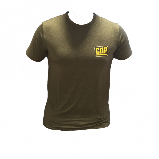 CNP Pro CNP Grey Fitted T-Shirt