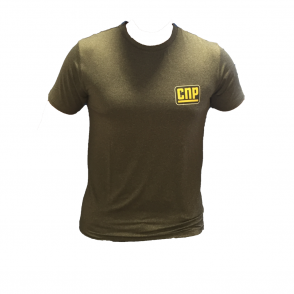 CNP Grey Fitted T-Shirt